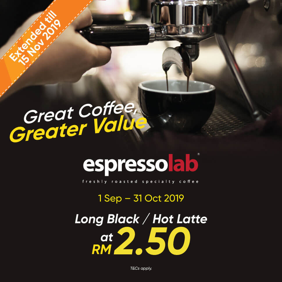 GREAT COFFEE, GREATER VALUE